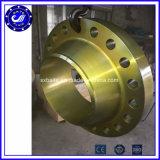 造られた溶接首の (WN)管Ss 316のSS304ステンレス鋼のフランジ