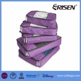 5PCS旅行パッキングオルガナイザーか荷物のパッキング立方体
