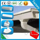 Canal de la lluvia de los productos de los plásticos de la instalación de tuberías del PVC