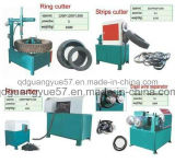 半自動の機械をリサイクルする使用されたタイヤ