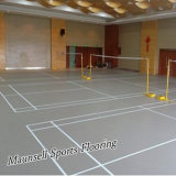 Bevloering van het Hof van de Sporten van het Badminton van pvc de Binnen/Openlucht