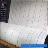 Cubierta de tierra tejida PP blanca de la tela