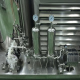 Strumentazione mescolantesi del liquido per profumo