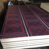 Больше Than 200 Color и Grain Paper Overlay Plywood для Middle East Market