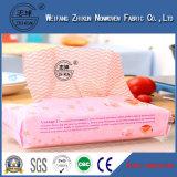 tissu non-tissé de Spunlace de la maille 45G/M2 13 pour le tissu de nettoyage