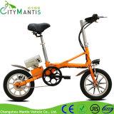Lithium-Batterie eine Sekunde Ebike faltbares elektrisches Fahrrad faltend