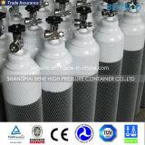 Cilindro de oxigênio sem emenda pequeno dos equipamentos médicos do gás
