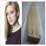 extensões do cabelo da fita do cabelo humano do Virgin 5A