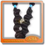ブラジルの毛の拡張人間の毛髪の波