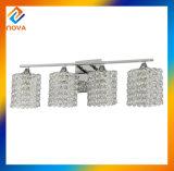 Lumière en cristal de mur de qualité avec du matériau de fer
