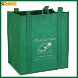 9 sac réutilisable de vin du transporteur 420d de bouteille (TP-WB020)