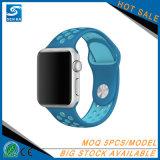 Appleの腕時計のスポーツバンドのためのユニバーサルシリコーンのクイックリリースの時計バンド