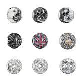 L'europeo di modo borda l'argento sterlina dei monili 925 dei braccialetti