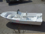 Bateau de pêche de divertissement d'embarcation de plaisance de fibre de verre de Liya 19ft