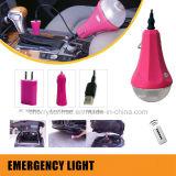 Mini portátil solar Lammp 15 vatios de iluminación del panel solar kit Venta