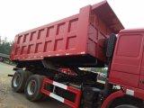 De Vrachtwagen van de Kipper van de Stortplaats van de Technologie van de Mens van Shacman 6X4