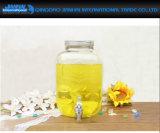 [8ل] [وتر بوتّل] تخزين مرطبان لأنّ خمر أو عصير مع صنبور وغطاء