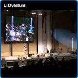 Arrendamento gigante interno para eventos, conferência do painel do diodo emissor de luz da cor cheia, vidas, partidos