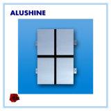 4mm PVDF Außenzusammengesetztes Panel ACP-Aluminiumblatt-dekorative Wand-außenumhüllung