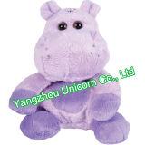 Stuk speelgoed Hippo van de Pluche van de Gift van de Baby van Ce het Comfortabele Zachte Gevulde Dierlijke