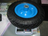 Roda do Wheelbarrow do pneu 400-8 do Wheelbarrow de Qingdao
