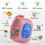 GPS en plusieurs langues pour enfants Tracker Montre avec fente pour carte SIM (H3)