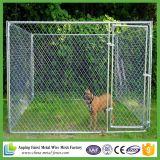Портативная клетка металла собаки провода