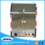 Machine de vitrine chauffante à popcorn à air chaud à usage commercial - Two Food Area