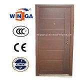 Облицовки MDF обеспеченностью рынка Ceeurop дверь стальной деревянной Armored (W-A1)