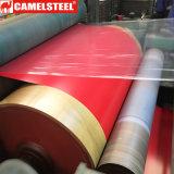 Bobinas galvanizadas Prepainted coloridas do aço para materiais de construção
