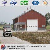 Edificio movible prefabricado de acero para el almacén agrícola