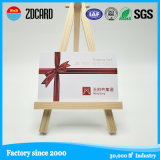 Cartão plástico da identificação da sociedade do PVC