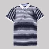 Los Mens 100% del algodón ponen en cortocircuito las camisas de polo de la tira de Chaep de la funda para la venta