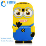 para sequazes Mobile Phone Caso de Samsung /iPhone/LG 3D Silicone