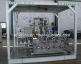 装置に燃料を供給する液化天然ガスの盛り土端末の液化天然ガス