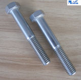 Carbone Steel Hex Bolt avec DIN931 Zinc Plated