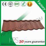 La pietra di prezzi di fabbrica ha ricoperto le mattonelle di tetto del metallo fatte in Cina