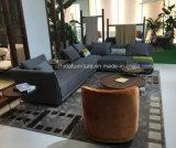 L moderno sofá da tela da forma