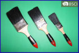 Bristle negro Paint Brush con Wooden Handle (444)