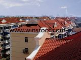 Winsroof PMMA/ASA 스페인 지붕 도와 왕 단면도 및 Roma 단면도