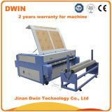 60W 80W Tuch-Laser-Ausschnitt-Maschine mit führendem Selbstsystem