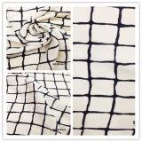 Tissu Chiffon de Remorquer-Son solide de vérification de T/C pour la robe