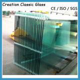 Aangemaakt Glas met Gaten en Knipsels