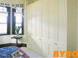 Alto guardarropa con bisagras brillante moderno de la puerta (BY-W-11)
