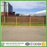 Панели загородки строительной площадки стандарта 10FT Амазонкы Канады временно