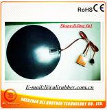Schwarzer Durchmesser 500*1.5mm der Silikon-Gummi-Heizungs-120V 600W