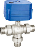F x M Cw617n Electric Brass Ball Valve (a. 0196)