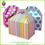 엄밀한 Foldable 선물 마분지 포장 케이크 상자