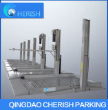 2.3t si dirigono l'elevatore idraulico di parcheggio dell'automobile di alberino due del garage