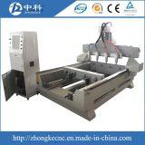 Preiswerter Skulptur-Gravierfräsmaschine CNC-Fräser des Preis-4 der Mittellinien-3D